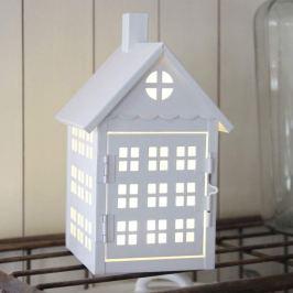 Batteriebetriebene LED-Dekolampe Haus
