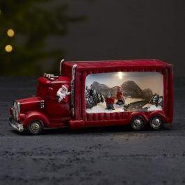 Merryville - LED-Dekolampe Weihnachtsmanntruck