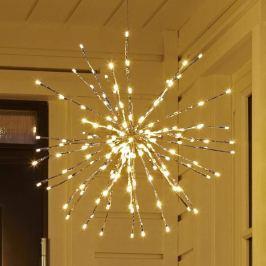 Wie Wunderkerzen - LED Dekoleuchte HYDRA, 50 cm