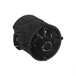 Abzweig-Schalterdose schwarz 63 mm