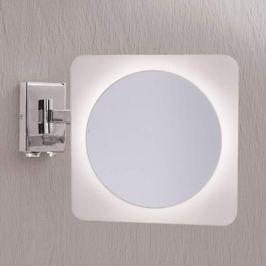Vergrößerungs-Wandspiegel Tulsi m. LED-Licht