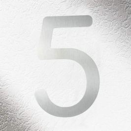 Hochwertige Hausnummern aus Edelstahl 5