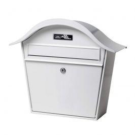 Weißer Briefkasten Holiday 5842 aus Stahl