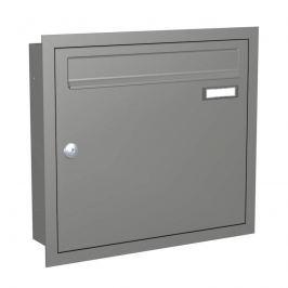 Moderner Briefkasten Express Box Up 110 - graualu