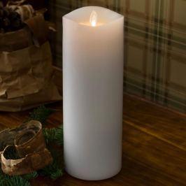 Duftende LED-Kerze Wachs mit Timer 23 cm