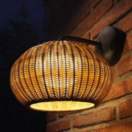 Bover Garota A/01 LED-Außenwandlampe graphit-braun