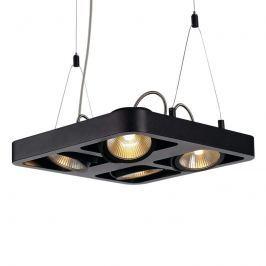 Vierflammige LED-Hängeleuchte Lynah schwarz