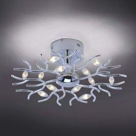 Florian - verästelte LED-Deckenleuchte in Chrom