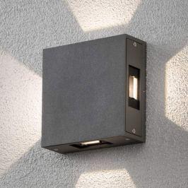 Cremona - verstellbare LED-Außenwandlampe, anthr.