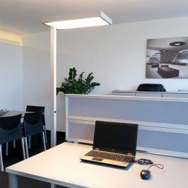 4 x 55 W 2G11 - Büro-Stehleuchte System