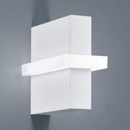 Oki - moderne Außenwandleuchte in mattem Weiß