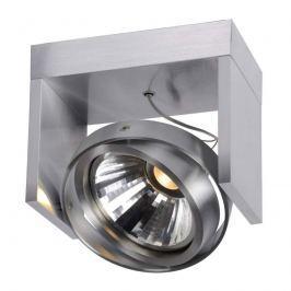 Aluminium-Deckenspot Zett 1-flg. LED