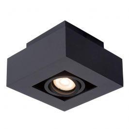 Quadratischer LED-Deckenspot Xirax, grau