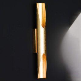 Goldfarbene LED-Wandlampe Set