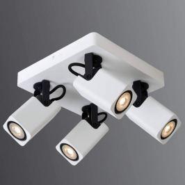 4-flammige LED-Deckenleuchte Roax