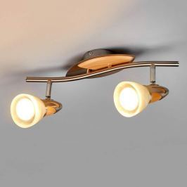 2-flammiger LED-Spot Marena, E14 R50