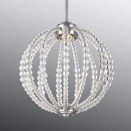 Zauberhafte Kristall-Hängeleuchte Oberlin m. LED