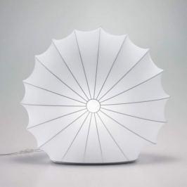 Axolight Muse - Textiltischleuchte in Weiß, 60 cm
