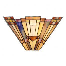 Im Tiffany-Stil gefertigte Wandleuchte  Esmea