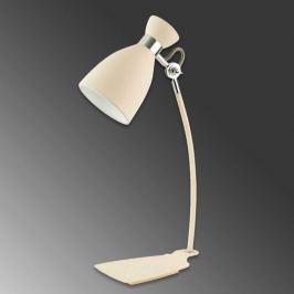 Dekorative Schreibtischlampe Retro, beige
