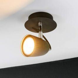 Schwarzer LED-Spot Marko, verstellbar