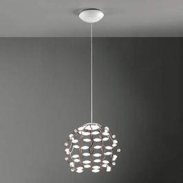 Kupferfarbene LED-Pendelleuchte Lamoi 40 cm