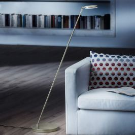 Holtkötter Plano S - LED-Stehleuchte, platin