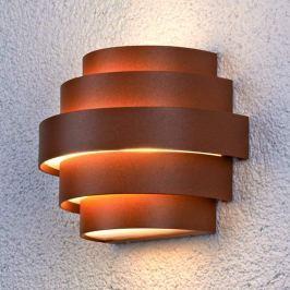 Ansprechende LED-Wandleuchte Enisa für außen