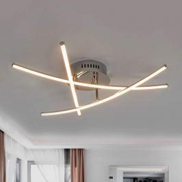 Gekreuzte Stäbe - schöne LED-Deckenlampe Yael