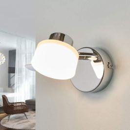 Verchromter LED-Spot Shia