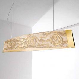 Kolarz Barca - champagnerfarbene LED-Pendelleuchte