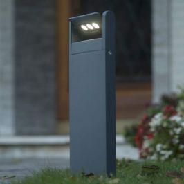 Finn Sockelleuchte mit schwenkbaren LEDs