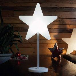 Hübsche LED-Dekorationsleuchte Shining Window Star