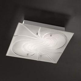 Quadratische Deckenlampe Mistral 40 cm
