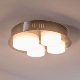 Leah - vierflammige LED-Deckenleuchte, rund