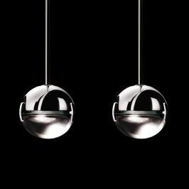 Cini&Nils Convivio - LED-Pendellampe 2flg. klar