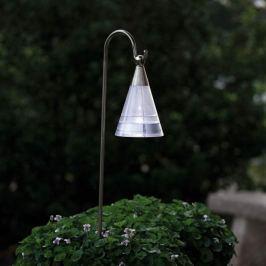 ASSISI-Solarleuchte in Edelstahl mit LED-Licht