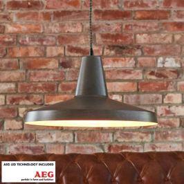 Metallene LED-Pendellampe Marret, Industriestil