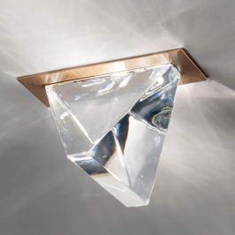 Fabbian Tripla - LED-Deckeneinbauleuchte bronze
