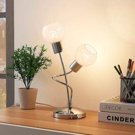 2-flammige LED-Tischlampe Matthea
