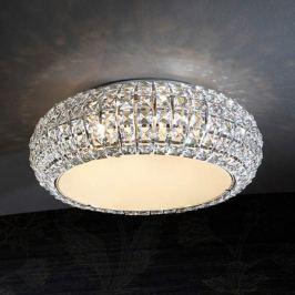 Funkelnde Deckenleuchte Diamond rund 40 cm