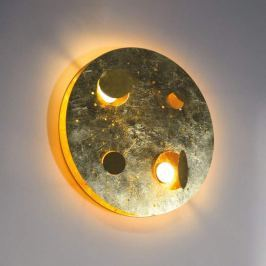 Knikerboker Buchi - LED-Blattgold-Wandleuchte