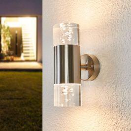 Benn - LED-Außenwandleuchte mit Luftblasen