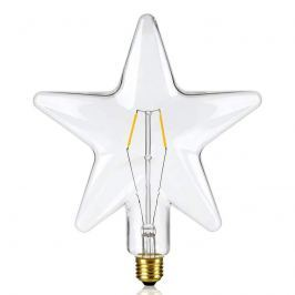 E27 0,5W LED-Lampe sternenförmig klar