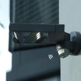 LED-Außenwandstrahler Keiran m. Bewegungsmelder 6f