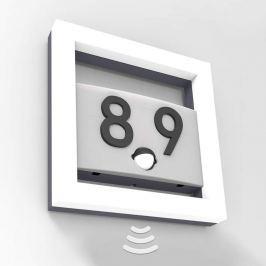 Alice - LED-Hausnummernleuchte mit Sensor