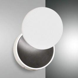 LED-Wandleuchte Ara mit Lesespot, weiß-schwarz