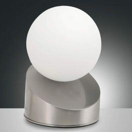 Ansprechende LED-Tischleuchte Gravity, nickel