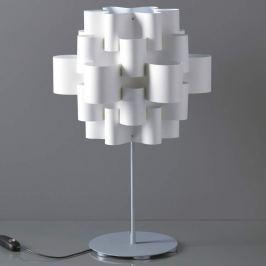 Ausgefallene Designer-Tischleuchte Sun in Weiß