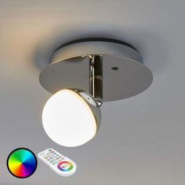 Steuerbare RGB-LED-Wandleuchte Olivine